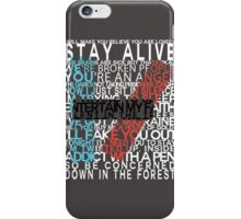 Lyric Logo iPhone Case/Skin