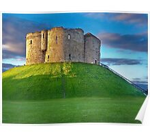 Clifford's Tower, York, England Poster