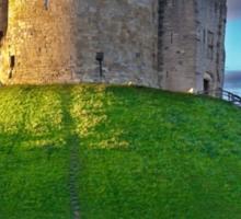 Clifford's Tower, York, England Sticker