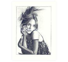 Keira Knightley Art Print