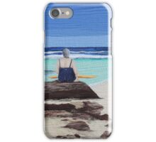 """Reminisence"" Textile art quilt iPhone Case/Skin"
