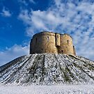 Clifford's Tower, York, in Winter by GrahamCSmith