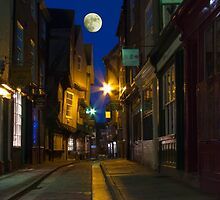 The Shambles at night, York, England by GrahamCSmith