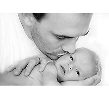 A Father's Love Photographic Print