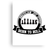 born to roll Canvas Print