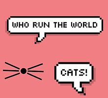 Who Run The World? Cats! by ymeeltje
