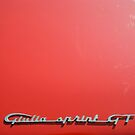 Alfa Romeo Giulia Sprint GT Badge 2 by Flo Smith
