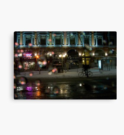 Obama Eve in Ottawa Canvas Print