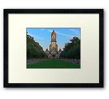 Disney castle or crematorium? Framed Print