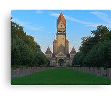 Disney castle or crematorium? Canvas Print