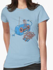 spaghetti Womens Fitted T-Shirt