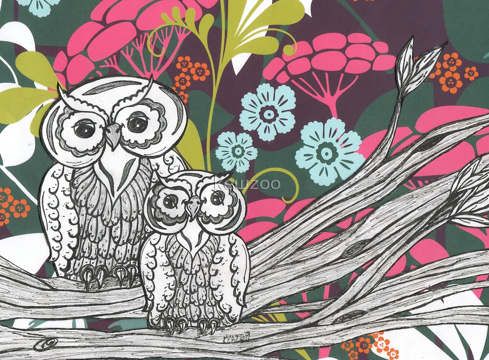 Owls by kewzoo