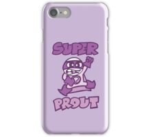 super prout cartoon rigolo iPhone Case/Skin