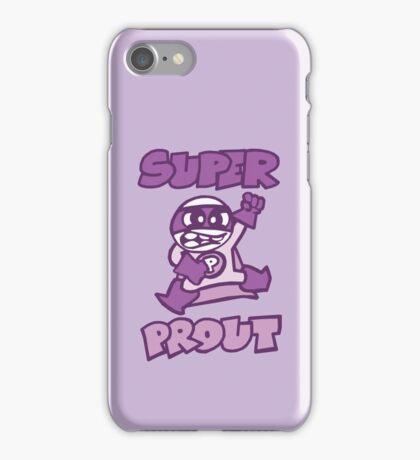 super prout cartoon rigolo iPhone Case/Skin