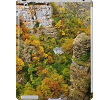 Old watermill in the heart of Chroussias canyon iPad Case/Skin