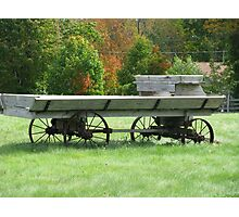 Cuntry Wagon.... Photographic Print
