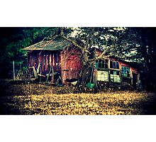 Run-down Shed Photographic Print