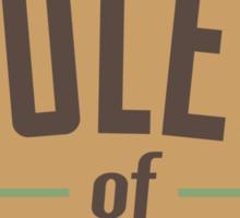 Rules of tatami Sticker