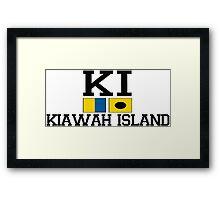 Kiawah Island - South Carolina. Framed Print
