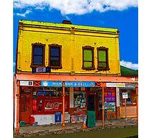 Carlton corner shop Photographic Print