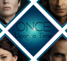 Once Upon a Time Design Sticker