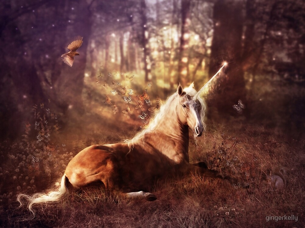 Ancients Series: The Unicorn by gingerkelly