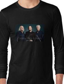 Crosby,Stills,Nash Concert Tour 2015 Long Sleeve T-Shirt
