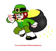 Pixel Leprechaun by atombat
