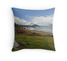 Storm Watcher Wanted Throw Pillow