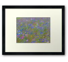 The Flowers, Impressionist Photography Framed Print