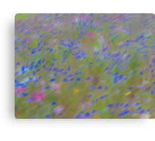 The Flowers, Impressionist Photography Canvas Print