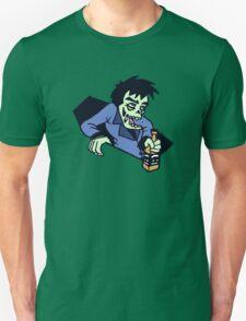 funny drunk zombi alcool bachelor T-Shirt