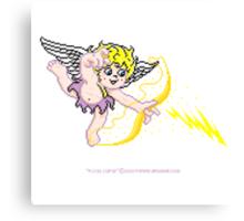 Pixel Cupid 4 Canvas Print