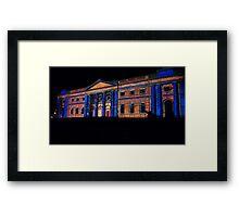 Psychedelic York illuminations Framed Print