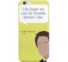 Chris Traeger iPhone Case/Skin