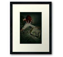 I'm having problems  Framed Print