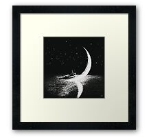 Arrival At Moonlight Framed Print