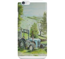 Tractor at Watendlath iPhone Case/Skin