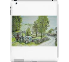 Tractor at Watendlath iPad Case/Skin