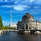 Bode Museum and Fernsehturm tower, Berlin by GrahamCSmith