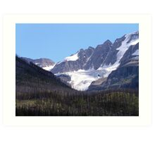Glaciers and Pine Beetles Art Print