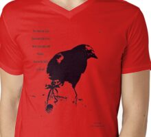 THE GREAT AMERICAN CROW TEE Mens V-Neck T-Shirt
