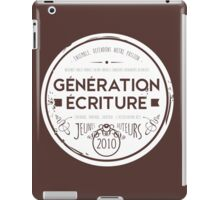 Collection vintage - modèle rond iPad Case/Skin