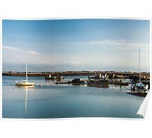 Boats and Wrecks (Île de Noirmoutiers -  Vendée, France) bis Poster