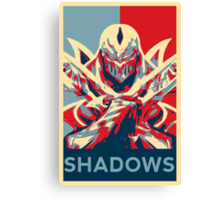 Zed - League of Legends - Master of Shadows Canvas Print