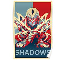 Zed - League of Legends - Master of Shadows Poster