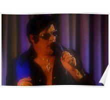 Canberra Elvis - Red Light - soft - mcu - Singing  Poster