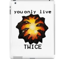 Aegis- You only live twice iPad Case/Skin