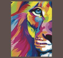 Colorful Lion Kids Clothes