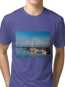 Boats (Île de Noirmoutiers - Vendée, France) Tri-blend T-Shirt